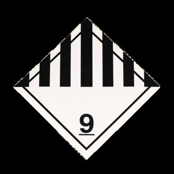 Placa etiqueta Clase 9 -...