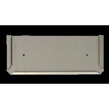 Soporte Panel Naranja 30x12 cm