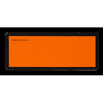 Panel Naranja ADR pequeño