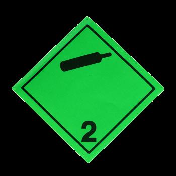 Placa etiqueta Clase 2.2 -...