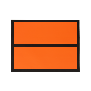 Panel Naranja adhesivo sin...