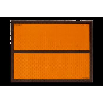 Panel naranja...